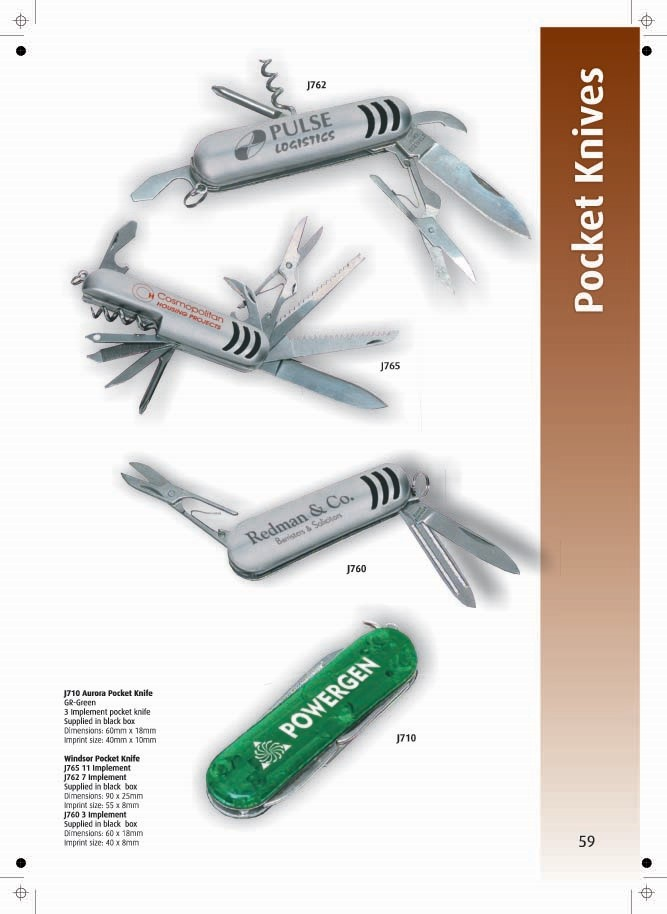 Page 59 - Pocket Knives