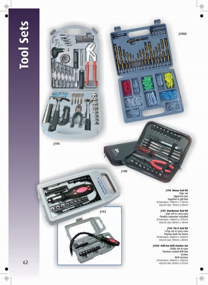 Page 62 - Tool Sets