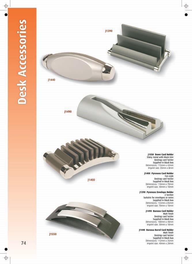Page 74 - Desk Accessories
