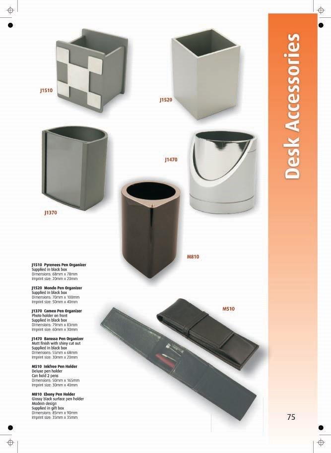 Page 75 - Desk Accessories
