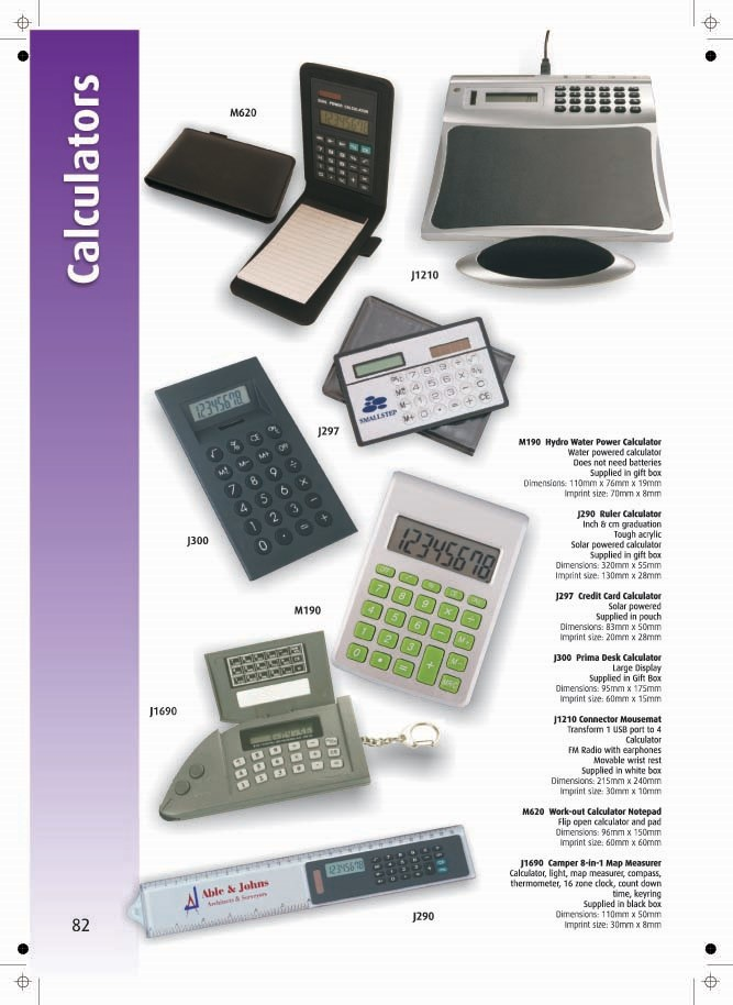 Page 82 - Calculators
