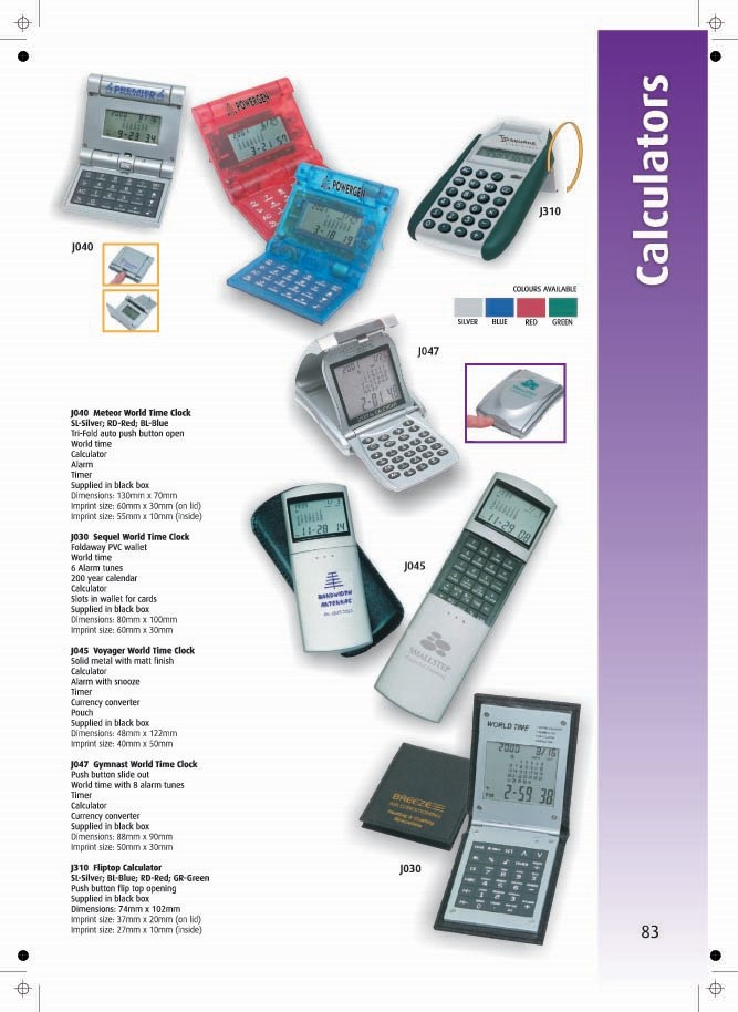 Page 83 - Calculators